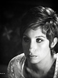 Barbra Streisand on Knitted Top Pixie Hair Photo by  Movie Star News