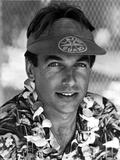 Mark Harmon in Beach Polo Outfit With Cap Photo by  Movie Star News