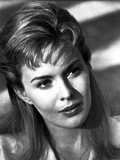 Jean Seberg Portrait in White Suit Dress Photo by  Movie Star News