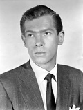 Johnnie Ray Looking Serious in Black Suit Photo by  Movie Star News