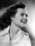 Barbara Hale on Long Sleeve Top smiling Photo by  Movie Star News