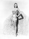 Esther Williams smiling in Floral Dress Photo by  Movie Star News