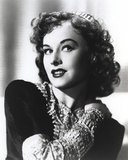 Paulette Goddard Posed in Beaded Dress Photo by  Movie Star News
