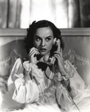 Paulette Goddard Posed with Telephone Photo by  Movie Star News