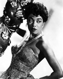 Sarah Vaughan wearing Gown Portrait Photo by  Movie Star News