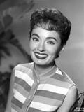 Ann Blyth on a Stripe Sleeveless Top Photo by  Movie Star News