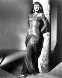 Maria Montez Leaning in Classic Portrait Photo by  Movie Star News