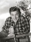 Kirk Douglas Posed Undress Portrait Photo by  Movie Star News