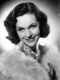 Maureen O'Sullivan on a Furry Shawl Photo by  Movie Star News