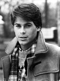 Rob Lowe in Coat Black and White Portrait Photo by  Movie Star News