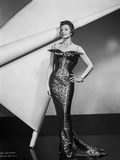 Rita Hayworth Posed with a Fit Gown Photo by  Movie Star News