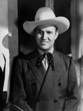 Gene Autry smiling in Cowboy Attire Photo by  Movie Star News