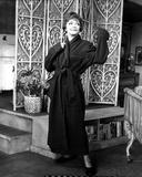 Sylvia Sidney wearing a Black Wardrobe Photo by  Movie Star News