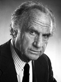 Jack Warden Posed in Black and White Photo by  Movie Star News