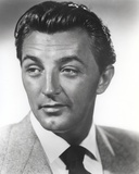 Robert Mitchum in Suit and Black Tie Photo by  Movie Star News