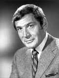 Gene Barry Slightly smiling in Suit Photo by  Movie Star News