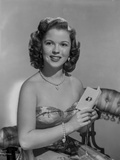 Shirley Temple Posed in Floral Dress Photo by  Movie Star News