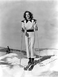 Ann Sheridan wearing a Skiing Outfit Photo by  Movie Star News