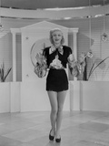 Ginger Rogers Black and White Dress Photo by  Movie Star News