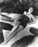 Paulette Goddard Lying Pose in Bikini Photo by  Movie Star News