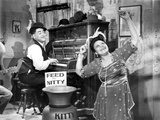 Fats Waller in Black and White Portrait Photo by  Movie Star News