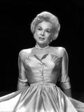 Eva Gabor on a Silk Dress Reclining Photo by  Movie Star News