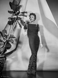 Rita Hayworth Posed with a Fit Black Gown Photo by  Movie Star News