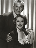 George Burns Classic Couple Portrait Photo by  Movie Star News