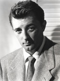 Robert Mitchum Posed in Suit and Tie Photo by  Movie Star News