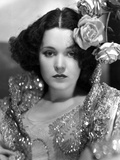 Maureen O'Sullivan in a Sequin Dress Photo by  Movie Star News