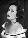 Merle Oberon on an Off Shoulder Dress Photo by  Movie Star News