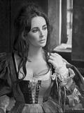 Elizabeth Looking Away in Ball Dress Photo by Bob Penn