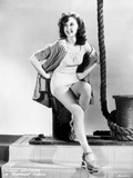 Susan Hayward Posed with a Sexy Dress Photo by  Movie Star News