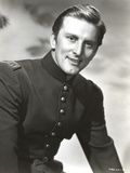 Kirk Douglas wearing Fit Black Suit Photo by  Movie Star News