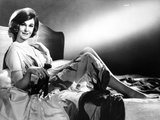 Geraldine Page Reclining in Classic Photo af  Movie Star News