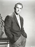 Kirk Douglas wearing Black Suit Portrait Photo by  Movie Star News