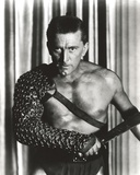 Kirk Douglas as Soldier Holding Sword Photo by  Movie Star News