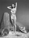 Rita Hayworth wearing a Shiny Dress Photo by Robert Coburn