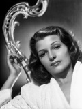 Rita Hayworth Looking Down Portrait Photo by A.L. Schafer