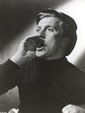 Kirk Douglas Shouting Pose Portrait Photo by  Movie Star News