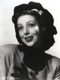 Loretta Young posed with Black Gloves Photo by  Movie Star News