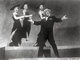 Les Girls Four People Dancing on Stage Photo by  Movie Star News