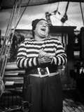 Abbott & Costello in Stripes laughing Photo by  Movie Star News