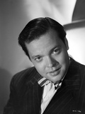 Orson Welles Posed in Black and White Photo by E Bachrach
