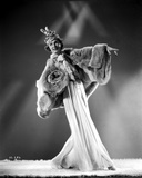 Irene Castle Dancing in a Furry Gown Photo by  Movie Star News