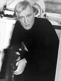 Richard Harris sitting in Black Suit Photo by  Movie Star News
