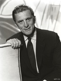 Kirk Douglas Black and White Portrait Photo by  Movie Star News
