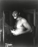 Robert Mitchum Half Naked in Portrait Photo by  Movie Star News