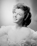 Susan Hayward in an Embroidered Dress Photo by  Movie Star News