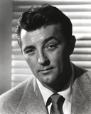 Robert Mitchum Posed in Coat and Tie Photo by  Movie Star News